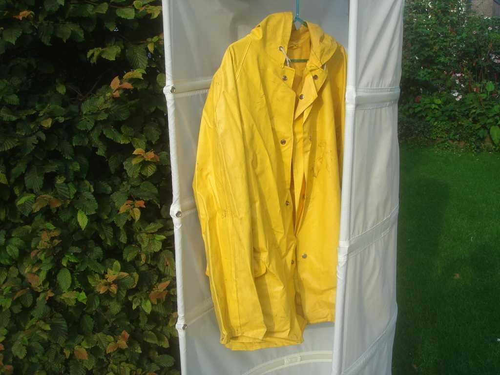 Original OK-Indoorjacke, hier allerdings outdoor fotografiert. Aus Sicherheitsgründen.