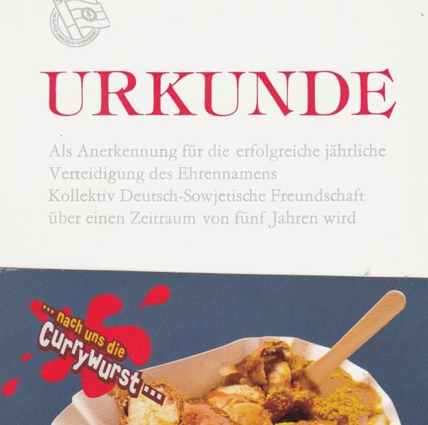 Cörriwurst